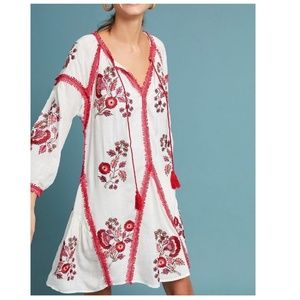 Hadley Embroidered Tunic Dress by Ranna Gill $188